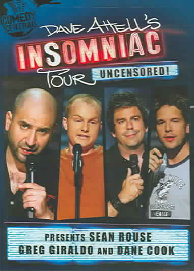 DAVE ATTELL INSOMNIAC TOUR PRESENTS BY ROUSE,SEAN (DVD)